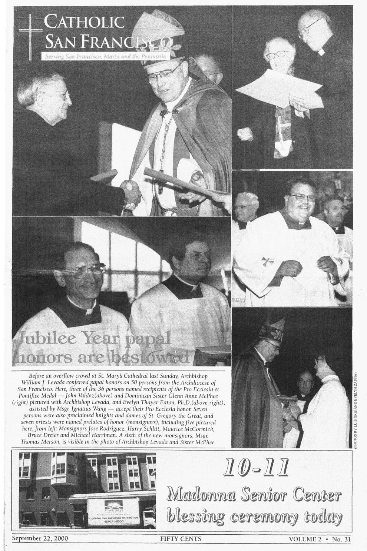 September 22 2000 By Catholic San Francisco Issuu Elvia Top Ml