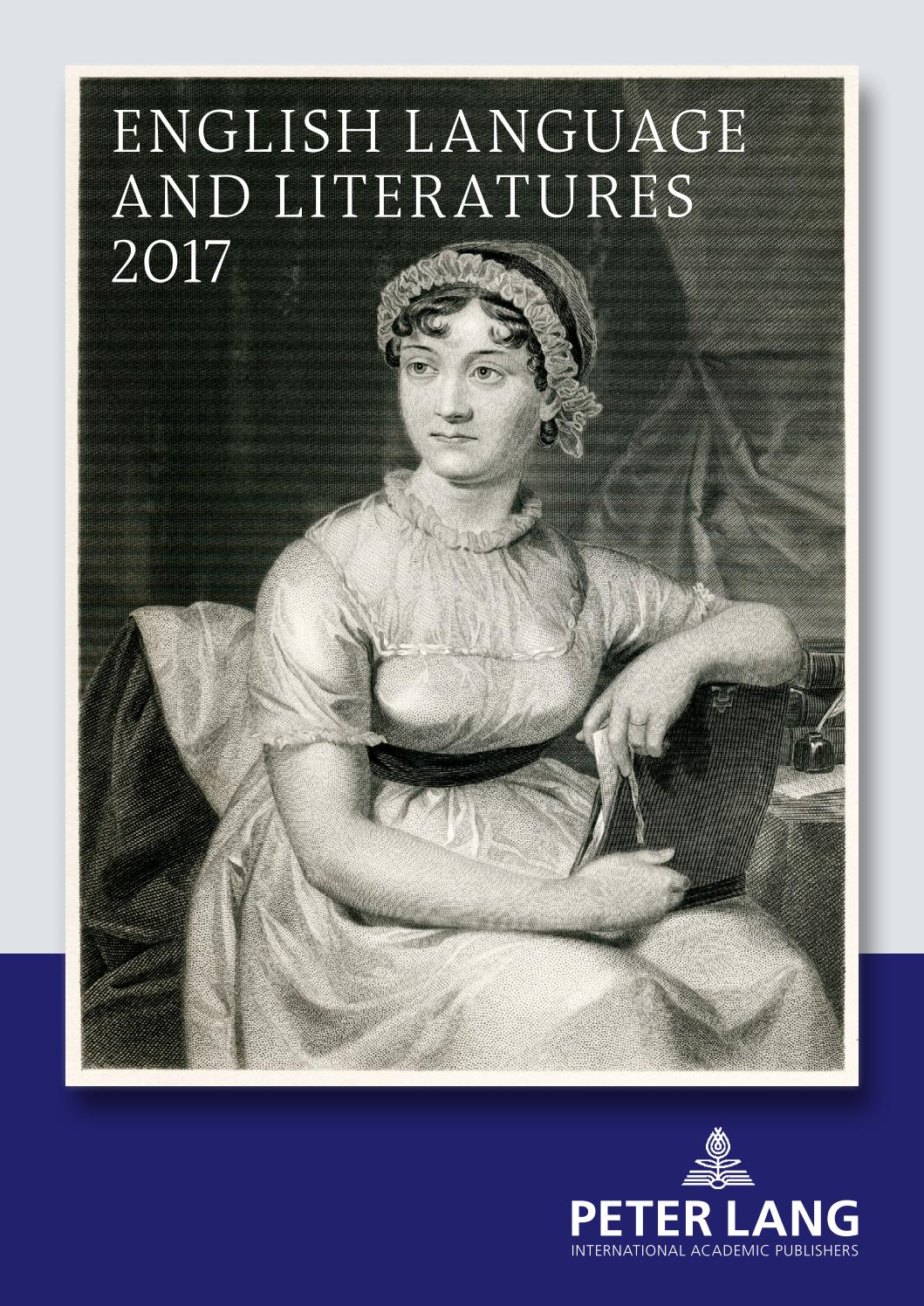 English Language and Literatures Catalogue 2017 by Peter