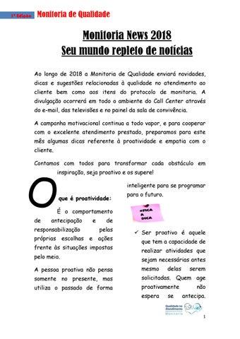 Jornal 1º Edição Final Pdf By Ingrid De Miranda Moraes Issuu