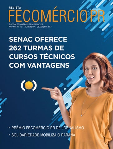 720f9b745ceeb Revista Fecomércio PR - nº 121 by Federação do Comércio de Bens ...
