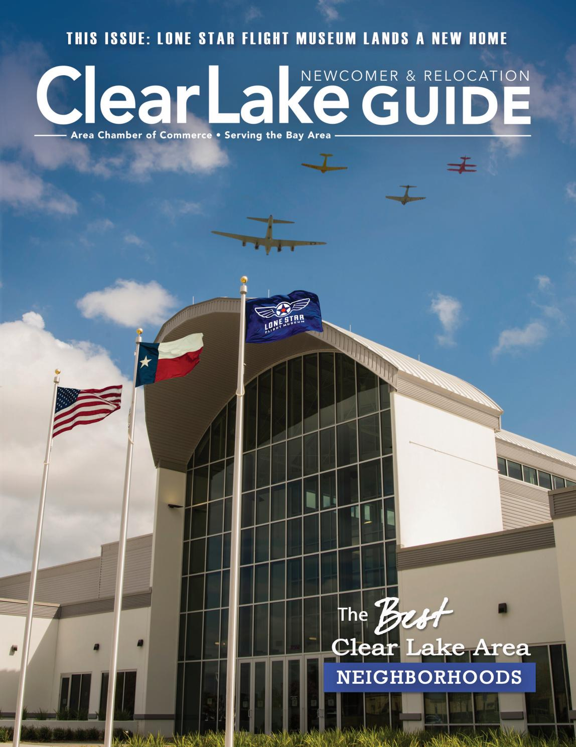 Clear Lake Area Newcomer Guide - 2017 Vol. 1 by WEB Media Group LLC ...