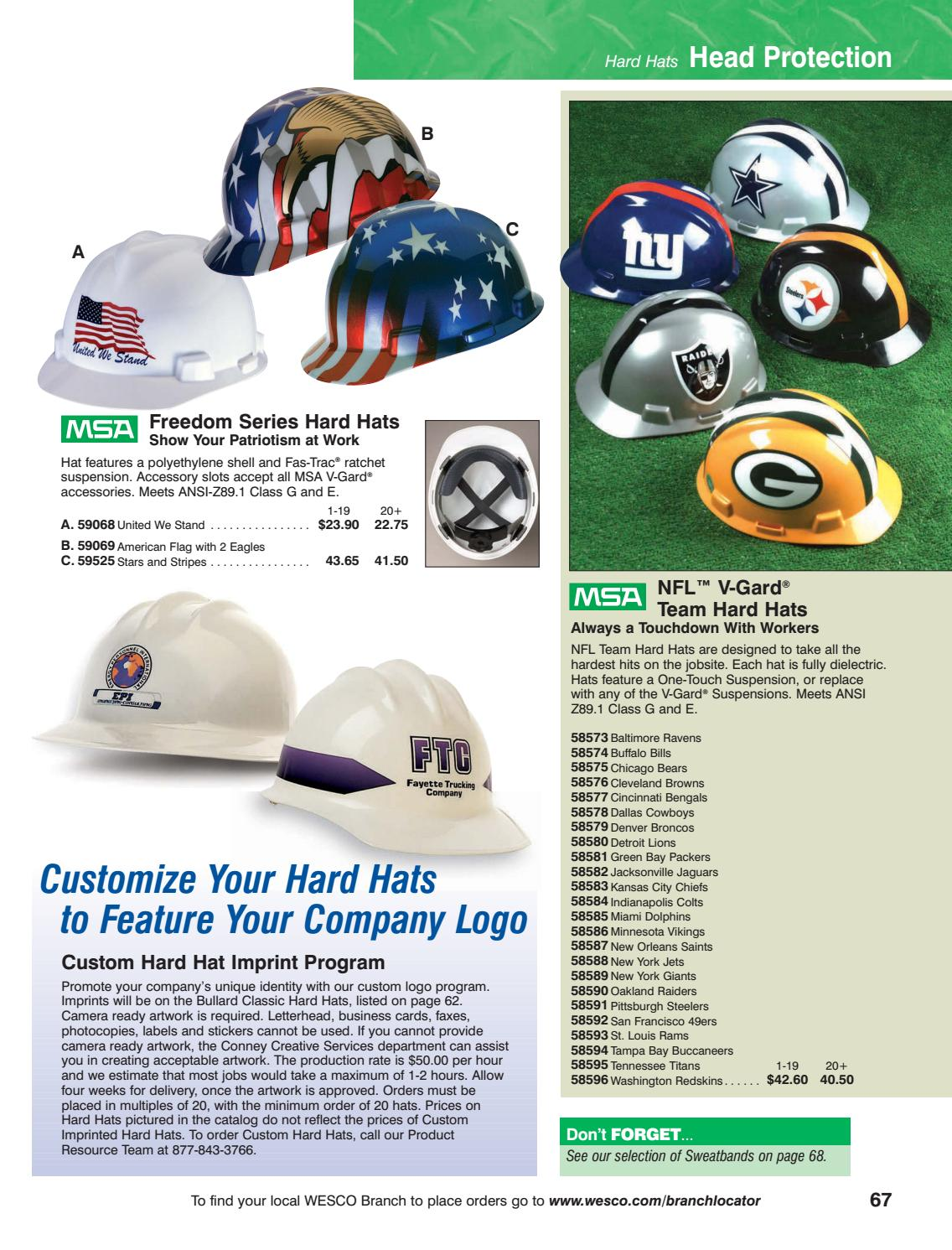01b174588 WESCO Safety Products Buyers Guide by WESCO Distribution - issuu