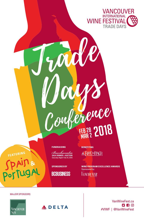 2018 Viwf Trade Days Brochure By Vancouver International