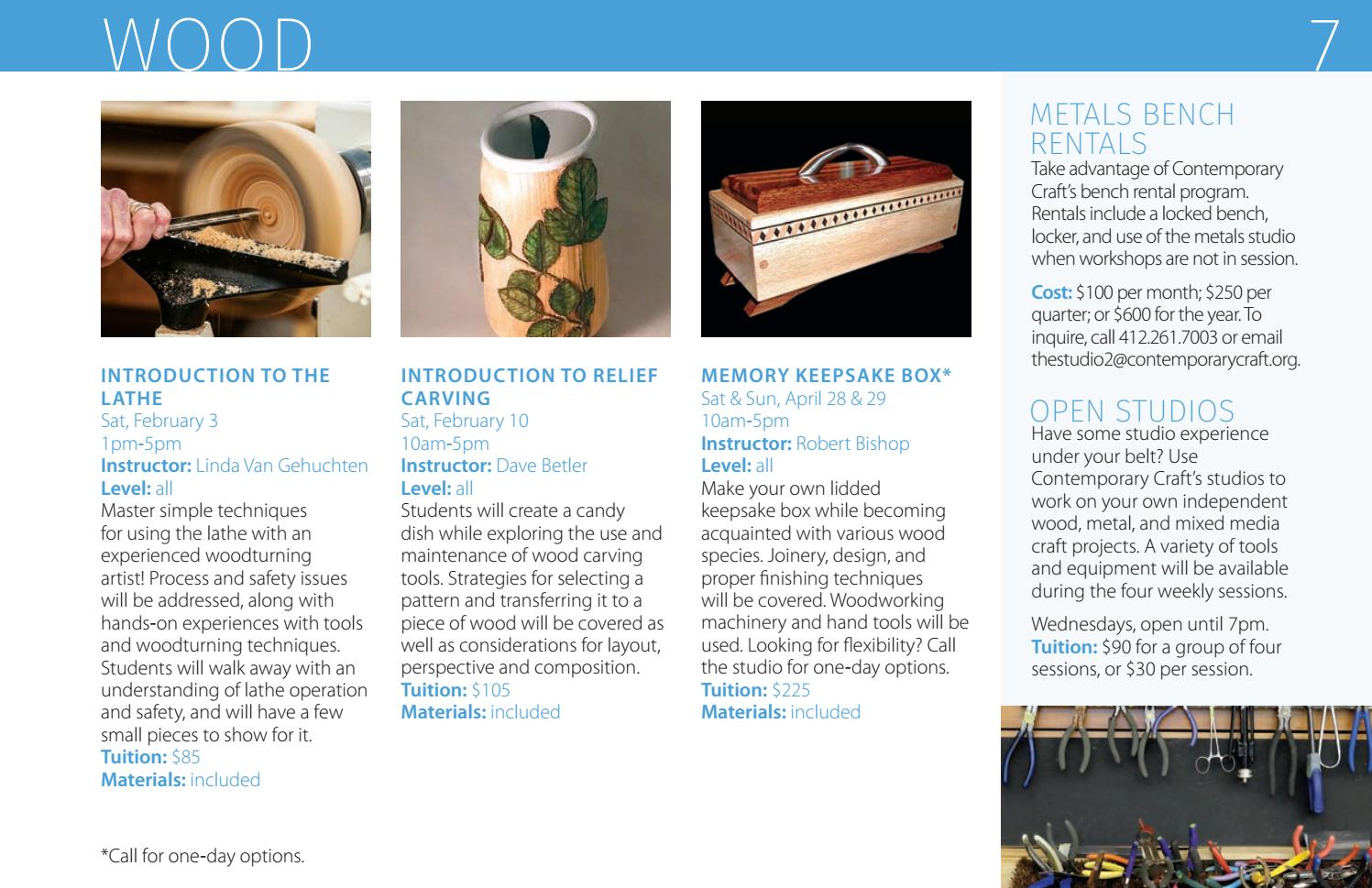 Fine Contemporary Craft Winter Spring 2018 Studio Catalog By Theyellowbook Wood Chair Design Ideas Theyellowbookinfo
