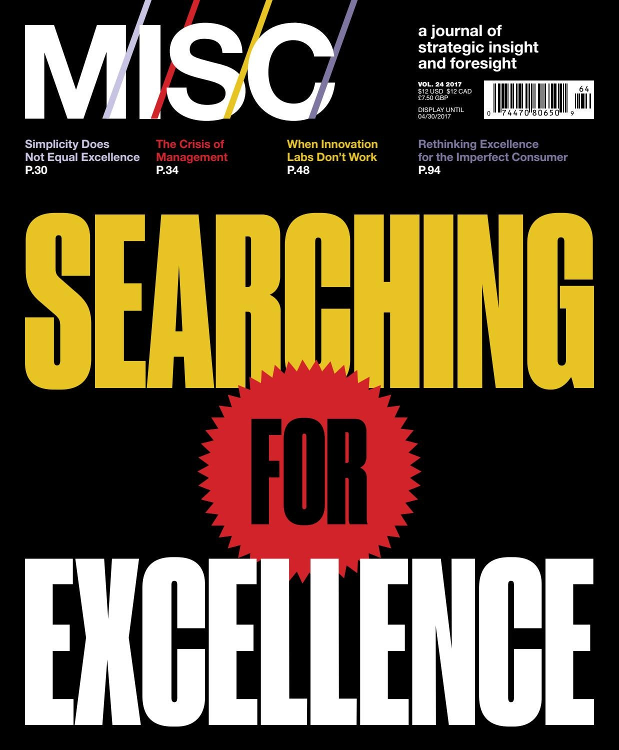 MISC Searching for Excellence by MISC issuu