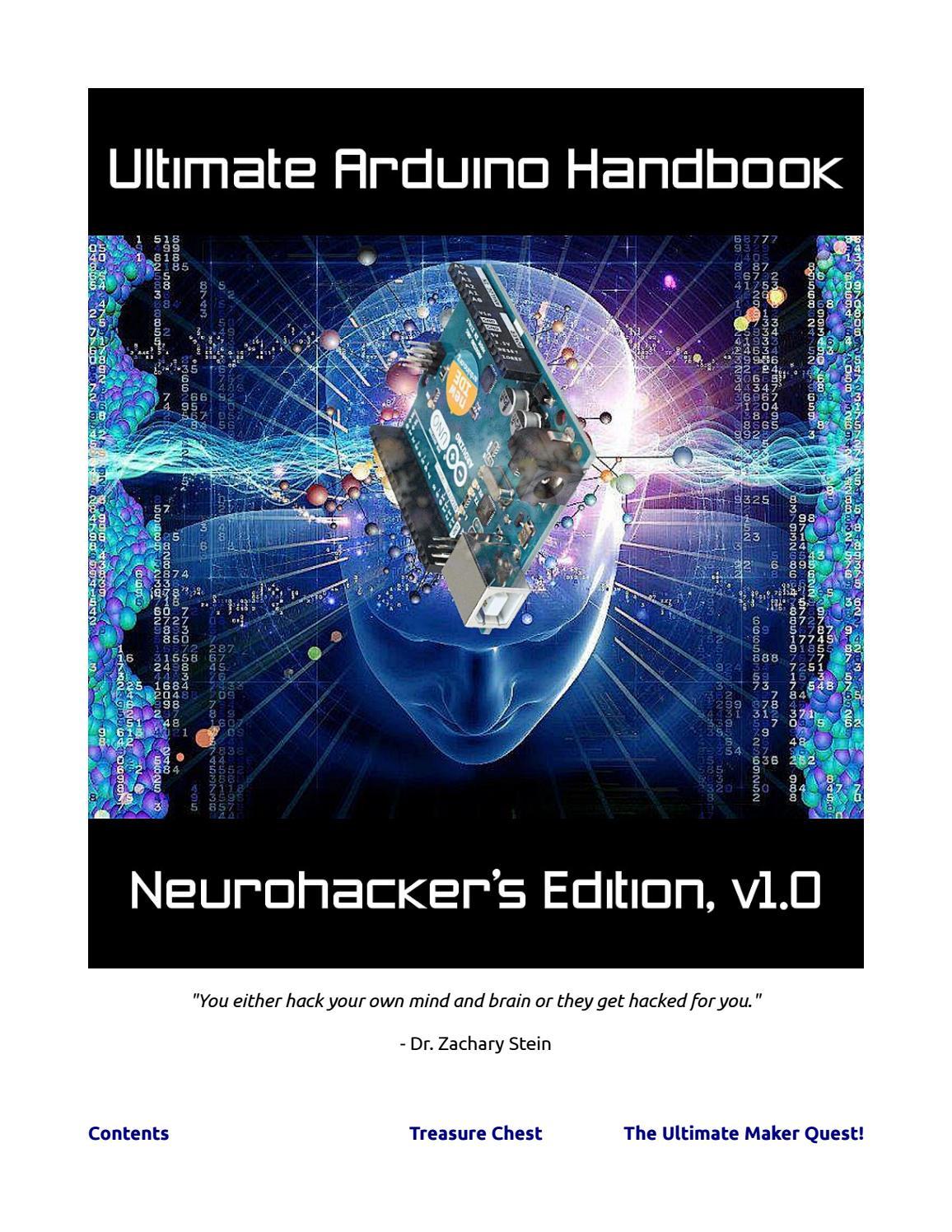 Ultimate Arduino Handbook Neurohackers Edition V1 0 By Kap Dimitris Led Vu Meter Transistors Schematic In Addition Buzzer Symbol Circuit Issuu
