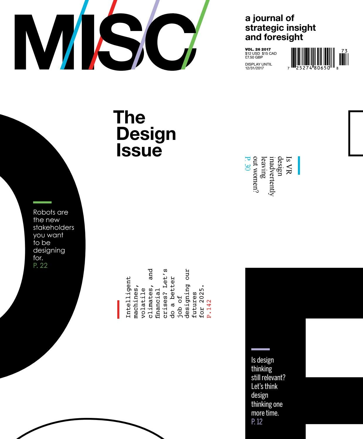 MISC: Design by MISC - issuu