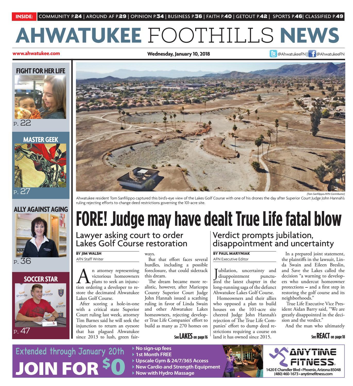 Ahwatukee Foothills News January 10