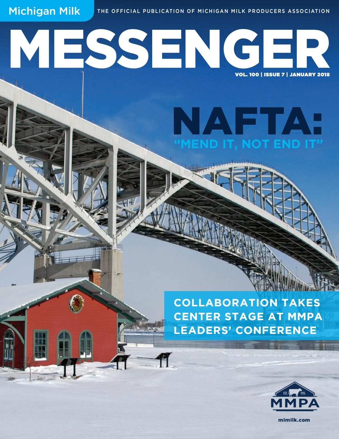 Michigan Milk Messenger: January 2018 by Michigan Milk