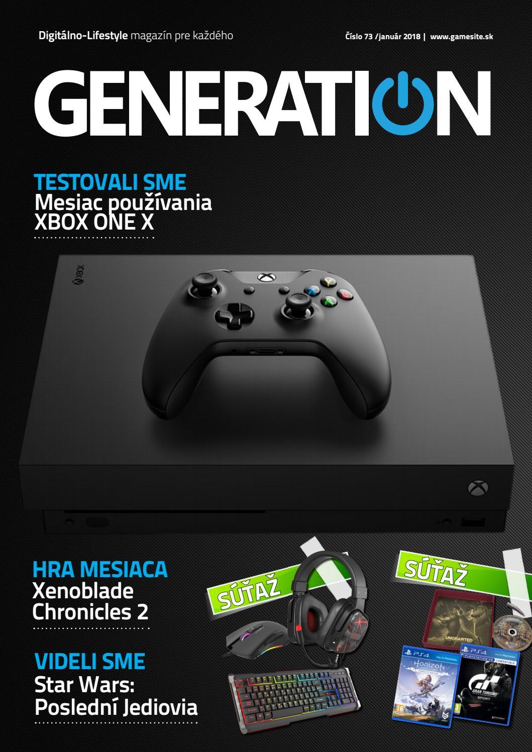 c4a97b790 Generation magazín #073 by Generation magazine - issuu