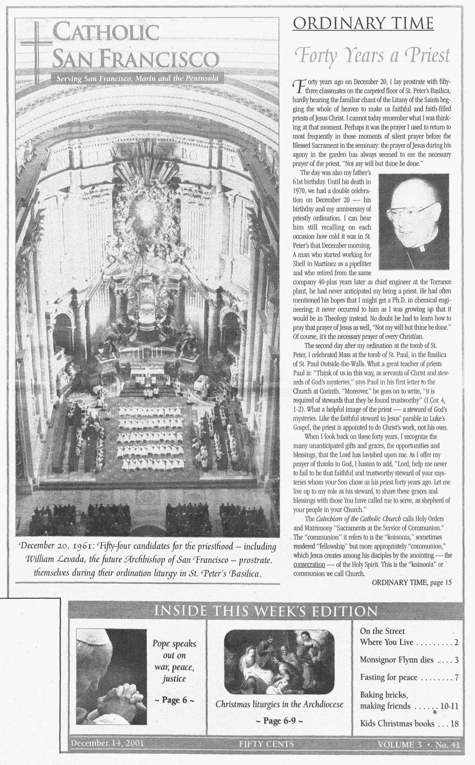 December 14, 2020 Soul Christmas Singer Baptist St. Louis December 14, 2001 by Catholic San Francisco   issuu