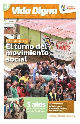 Vida Digna N° 3 El turno del movimiento social