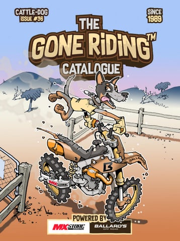 The Gone Riding Catalogue - Issue 36 by Ballard's Off Road