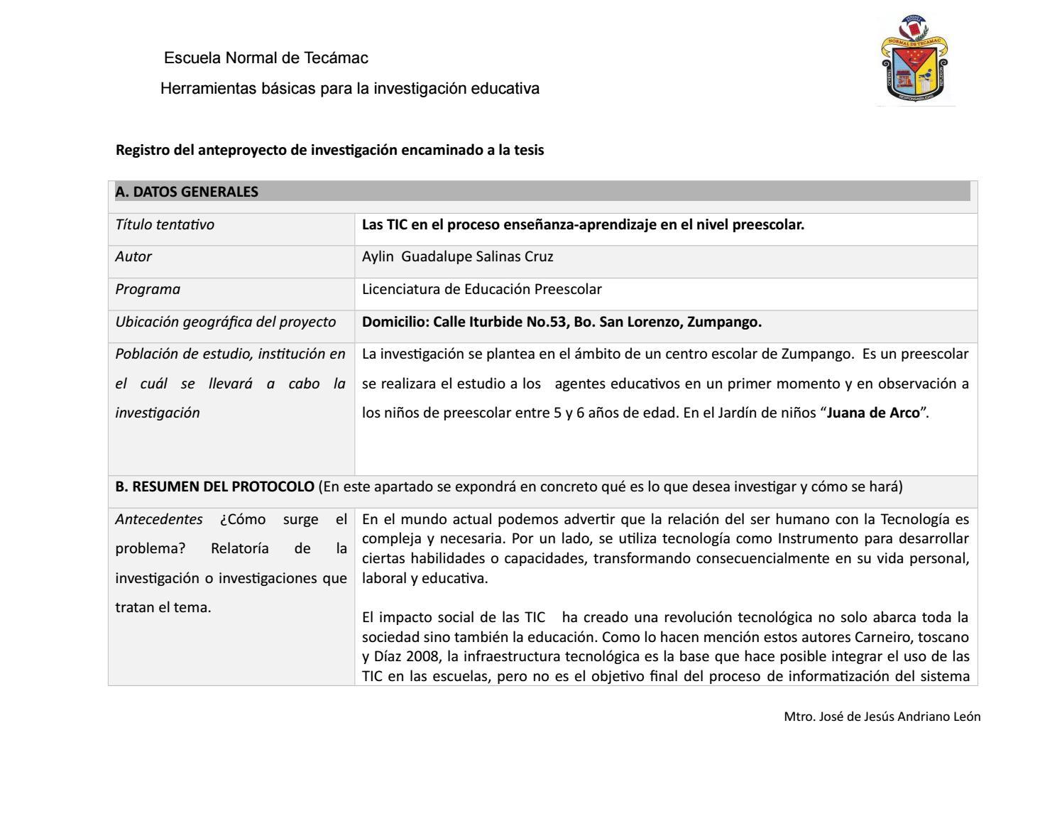 Protocolo de investigacion ent copia by Aylin Salinas - issuu
