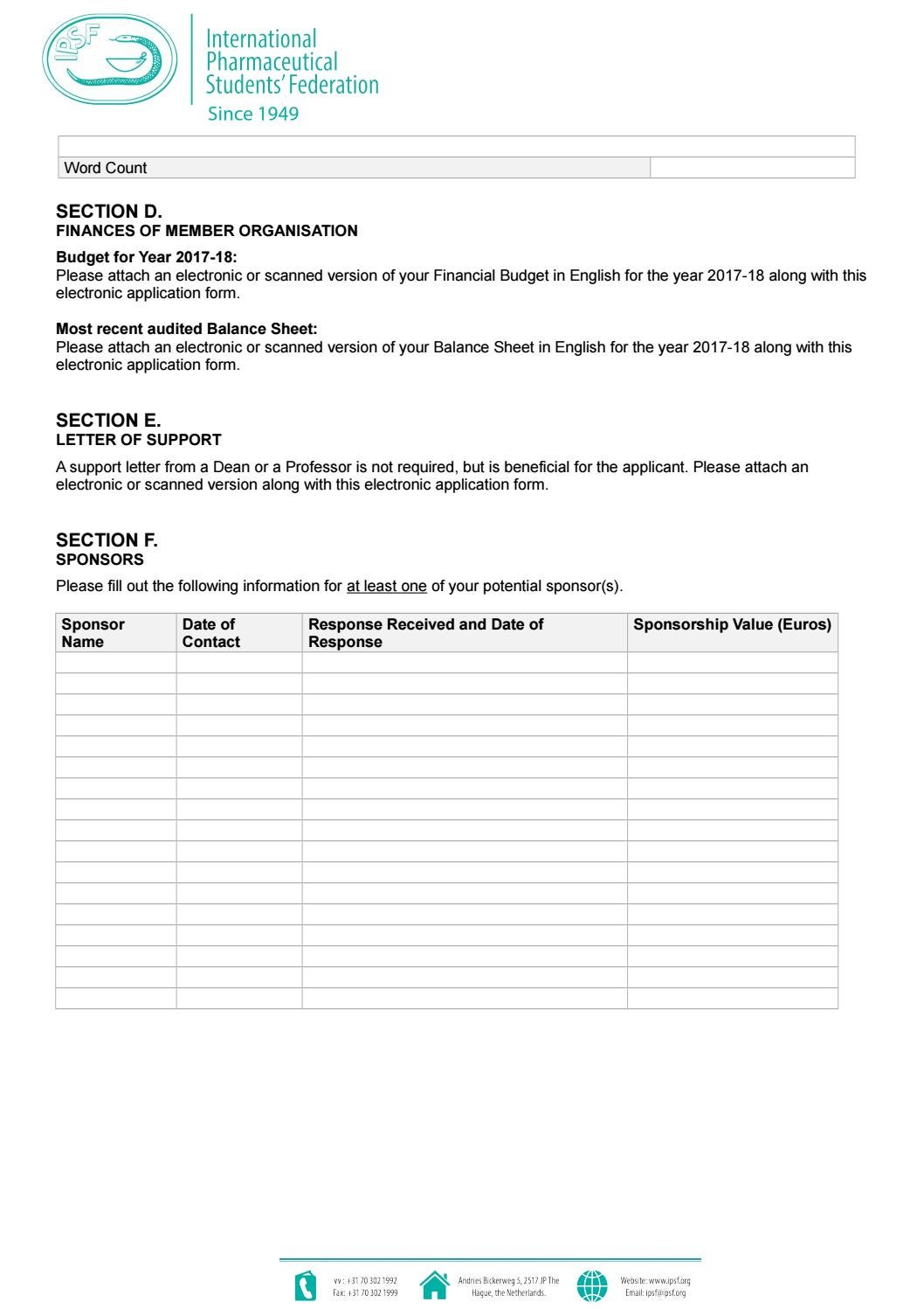 Ipsf membership grant application 2017 2018 by International ... on electronic education, email form, statement of purpose form, electronic brochure, electronic programs, ssa disability form, electronic information, chase savings account form, electronic data capture system, electronic resume, electronic payment, electronic courses, electronic notification, electronic newsletter, electronic contacts, x-ray order form,