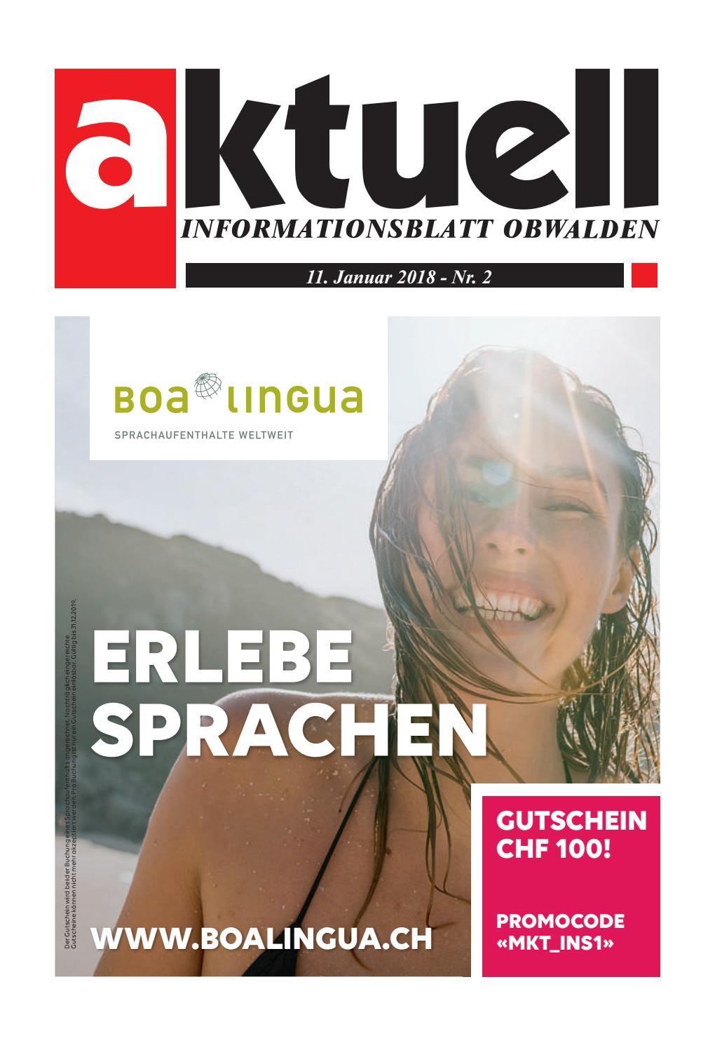 Aktuell Obwalden 02-2018 by Aktuell Obwalden AG - issuu