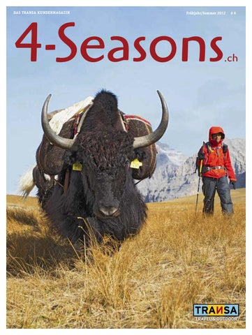 Transa 4 S Seasons.ch By Transa Travel U0026 Outdoor   Issuu