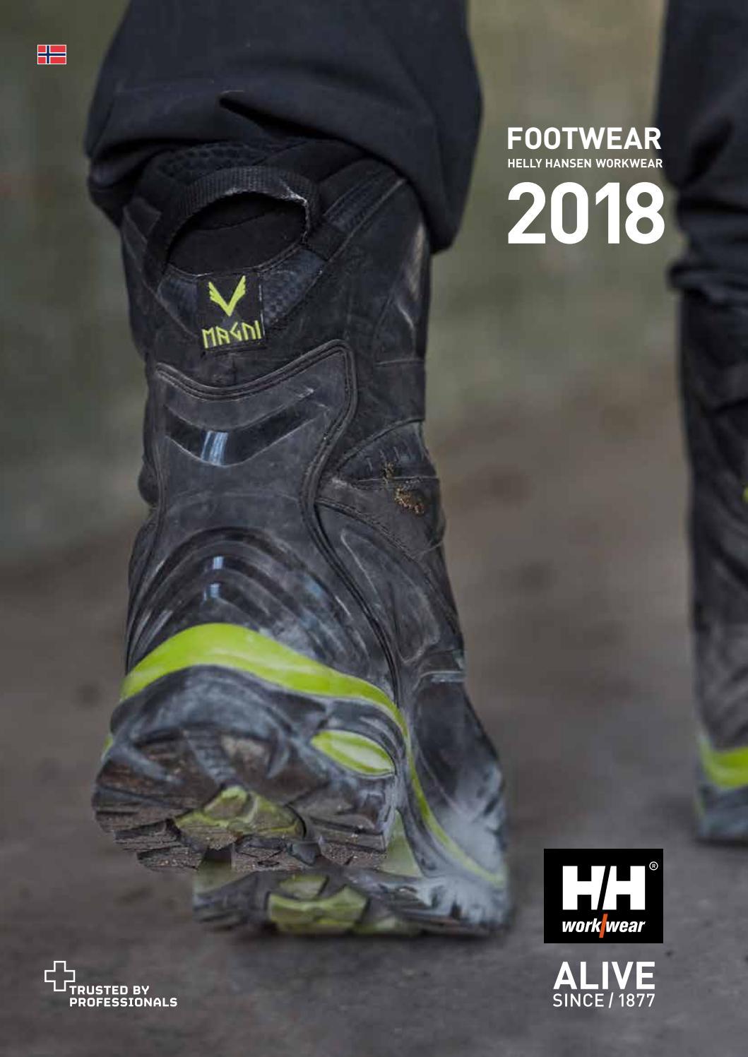 3108ffe9 Helly Hansen Workwear Footwear 2018 – Norwegian by HH Workwear - issuu