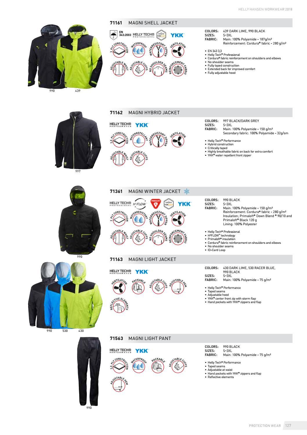 3fdfb15255b4c Helly Hansen Workwear Apparel 2018 – English by HH Workwear - issuu