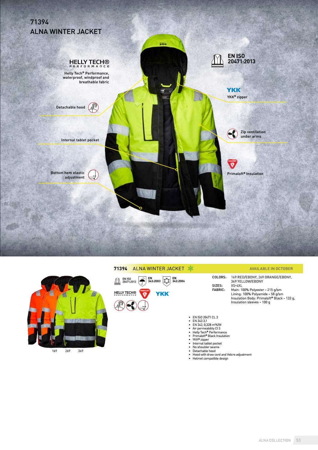 dd4d3b551ea Helly Hansen Workwear Apparel 2018 – English by HH Workwear - issuu