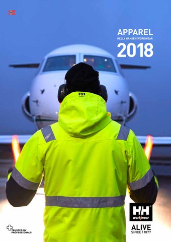 5b91a5c8 Helly Hansen Workwear Apparel 2018 – Norwegian by HH Workwear - issuu