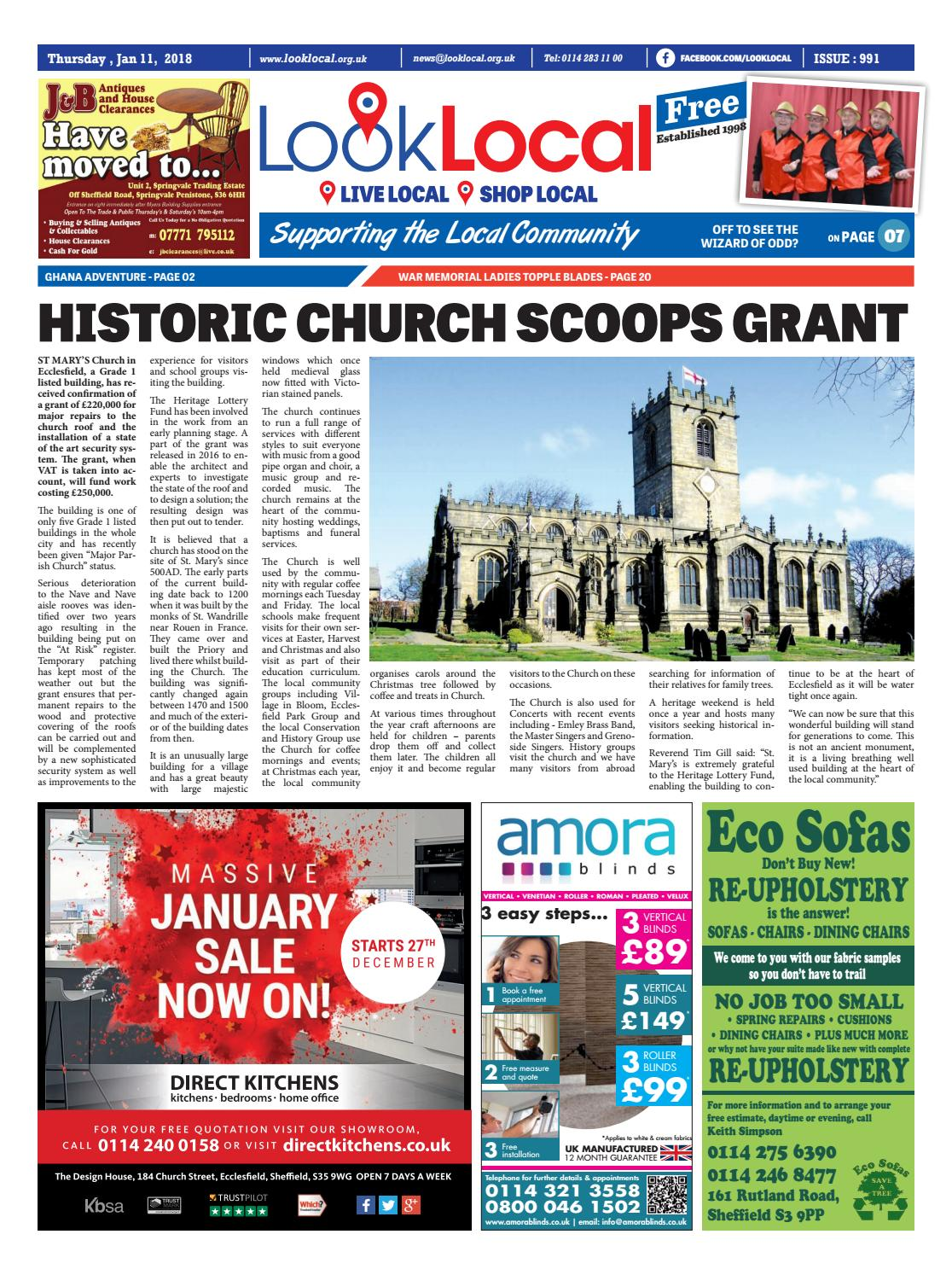 dab59631b1 Issue 991 Thursday 11 January 2018 by Look Local Newspaper - issuu