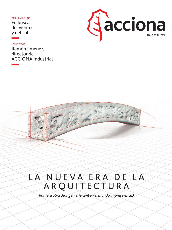 Acciona Nº64 by La Factoría - issuu