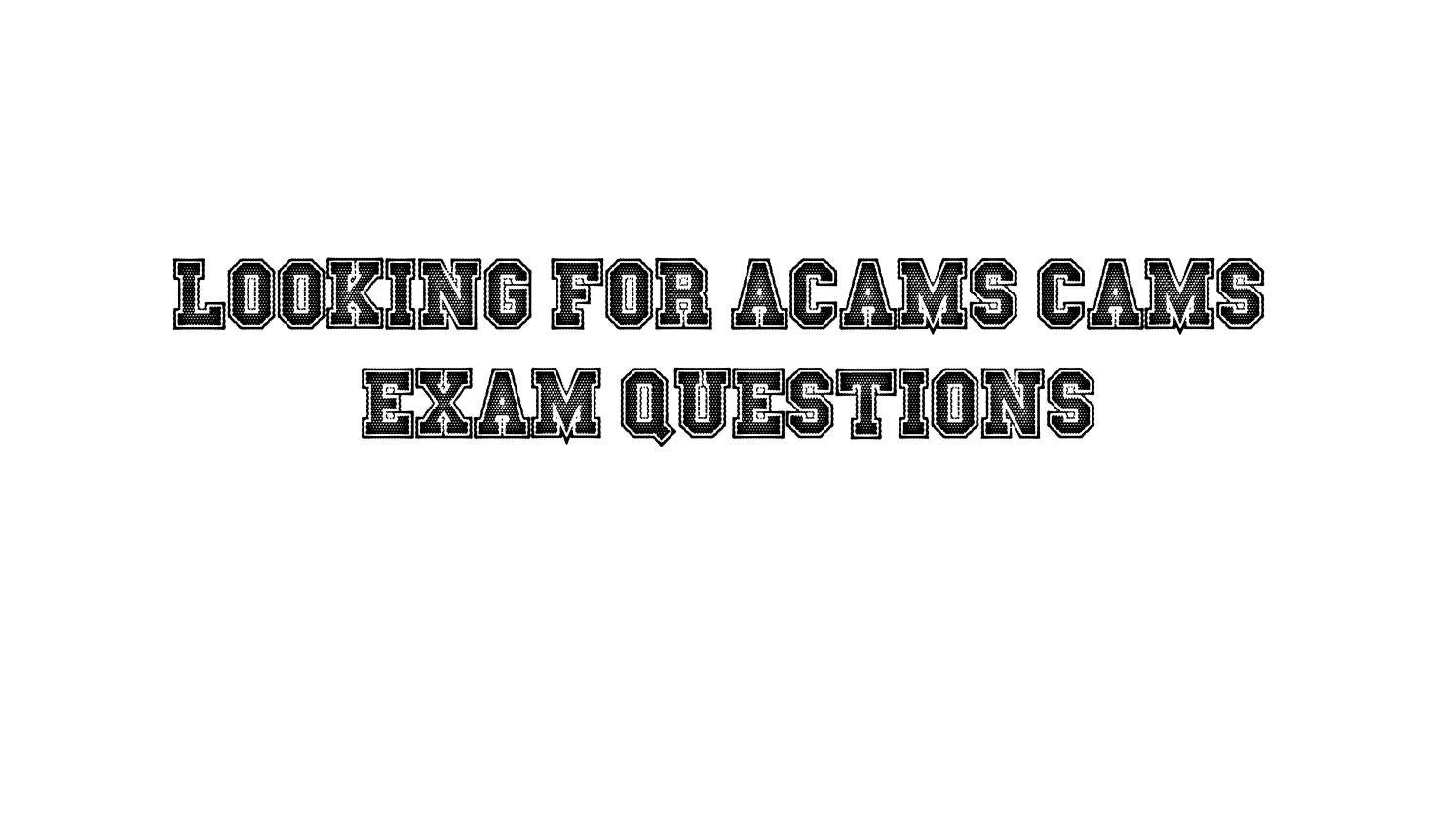 Cams Exam Dumps by Best4exams - issuu