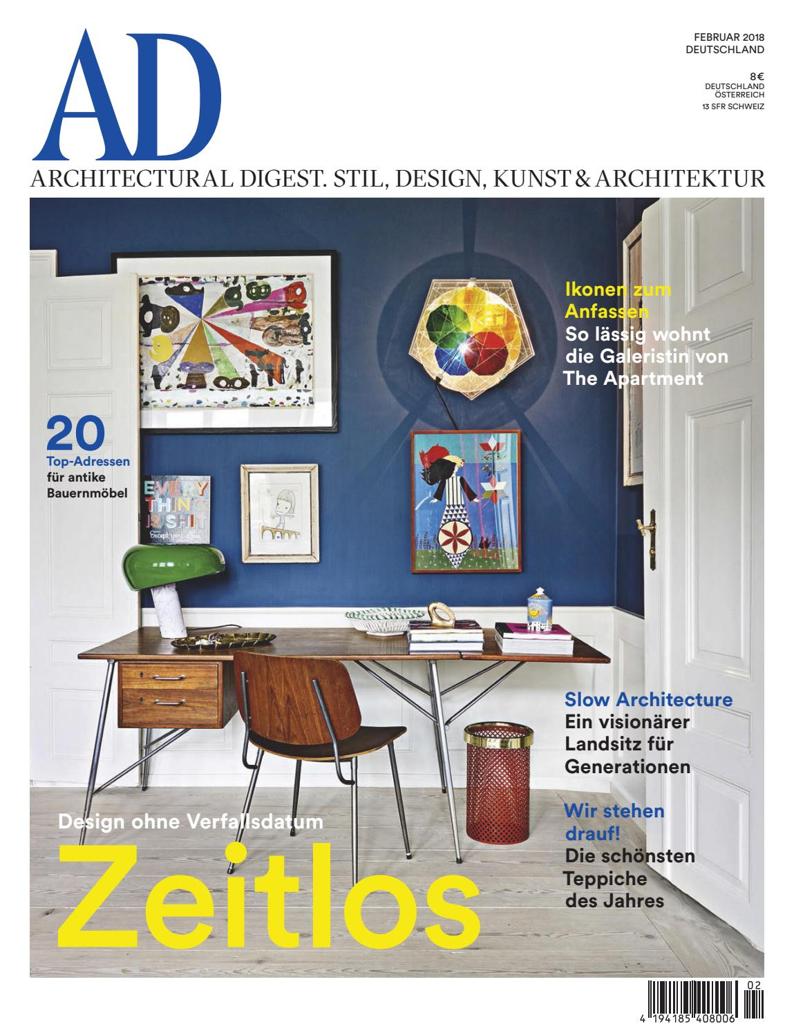 AD 02/2018 by AD Architectural Digest - issuu