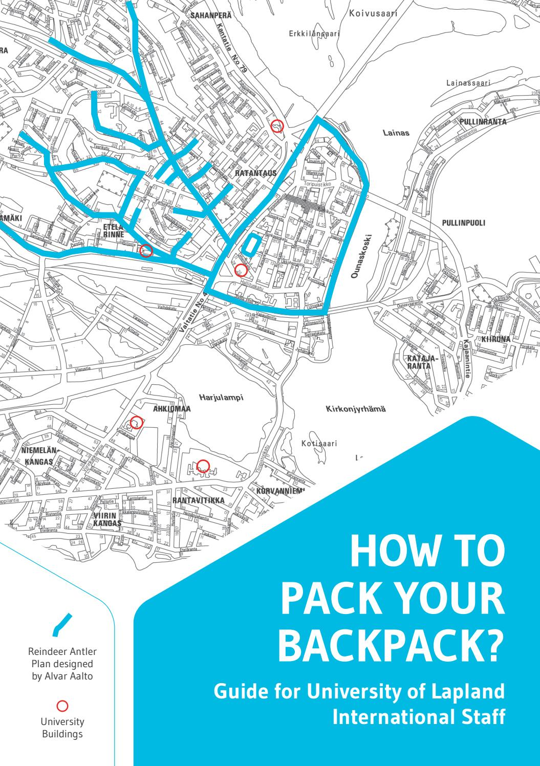 How to pack your backpack – Guide for University of Lapland ...