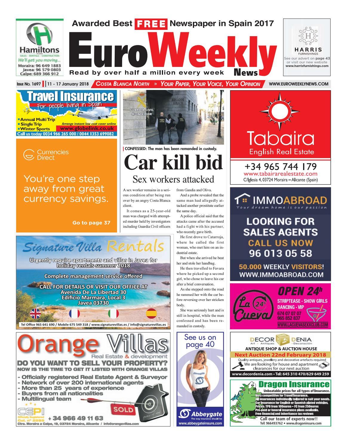 Euro Weekly News Costa Blanca North 11 17 Jan 2018 Issue 1697  # Muebles Boom Vitoria