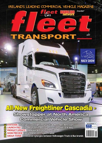 a7012f644ebb4e IRELAND S LEADING G COMMERCIA COMMERCIAL VEHICLE MAGAZINE Inside!