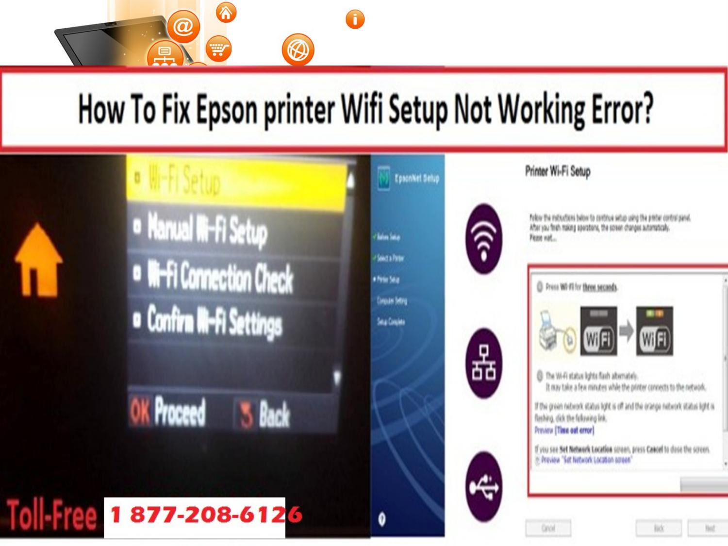 Epson Printer Not Printing Wirelessly