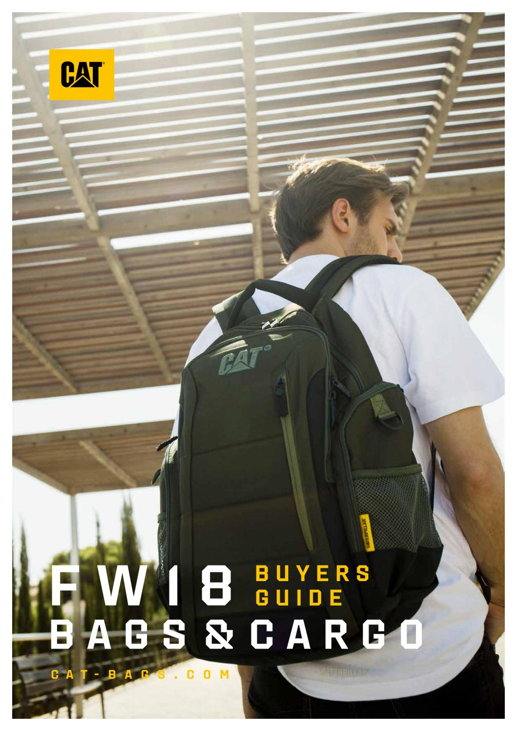 2ac466103 Cat® Bags FW18 Buyers Guide by Grown Up Licenses - issuu