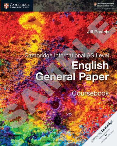 Preview English General Paper Coursebook by Cambridge