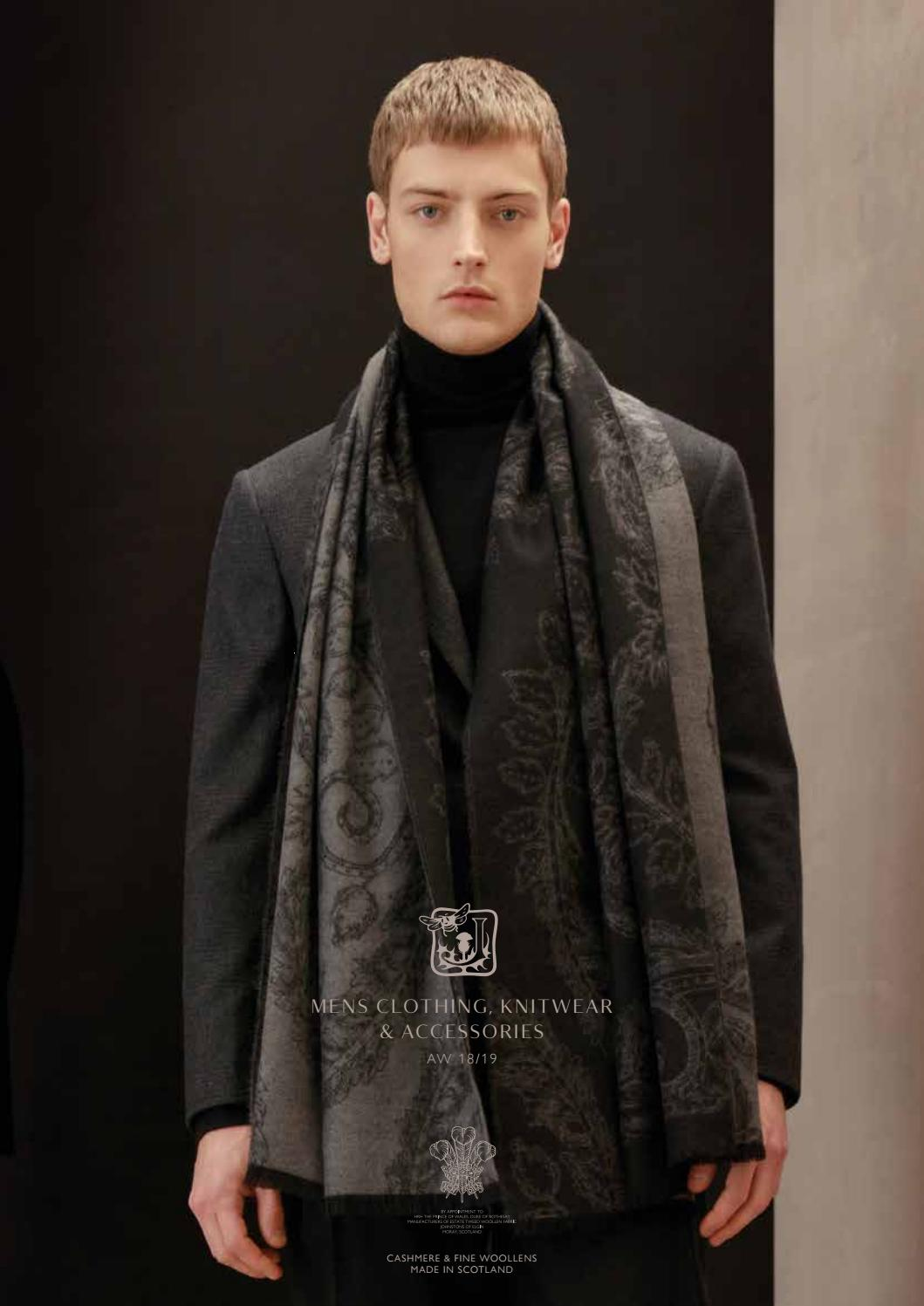 cf4b4e91d3035 Johnstons Of Elgin AW18 Menswear Sales Tool by johnstonscashmere0 - issuu