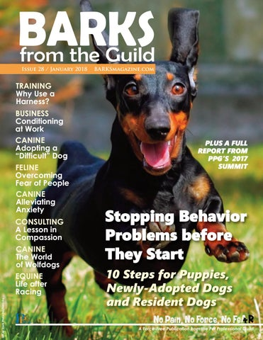 BARKS from the Guild January 2018 by The Pet Professional Guild - issuu
