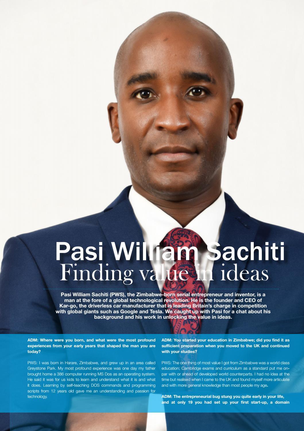 Tad magazine by The African Diaspora - issuu