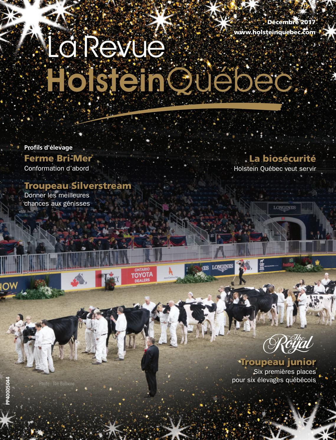 Holstein 2017 Dec Issuu By Revue La Québec f7gvyb6IYm