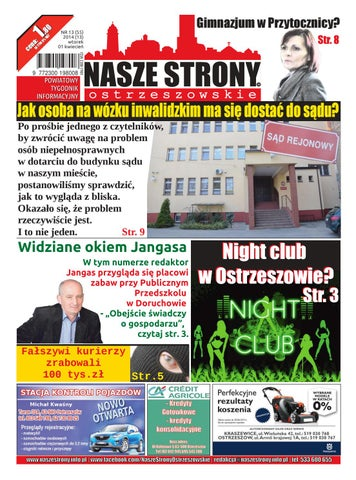 5ad3ffb259e6d Nasze Strony Ostrzeszowskie 13/2014 by Nasze Strony Ostrzeszowskie ...
