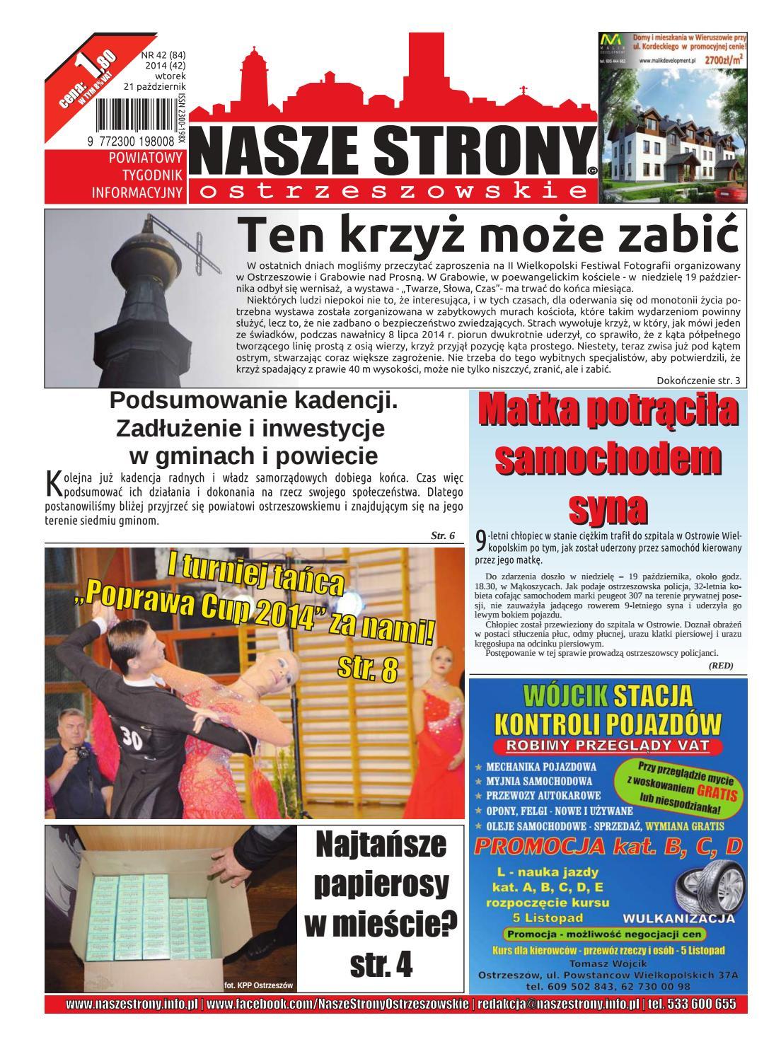 5ec088b7e75b1 Nasze Strony Ostrzeszowskie 42 2014 by Nasze Strony Ostrzeszowskie - issuu