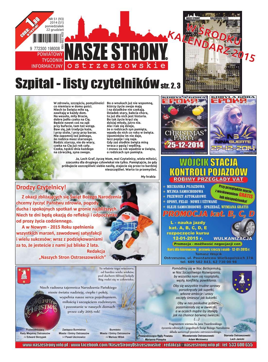 50711a664babf Nasze Strony Ostrzeszowskie 51/2014 by Nasze Strony Ostrzeszowskie - issuu