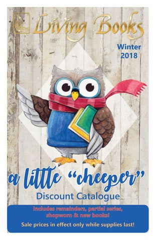 Little Cheeper Winter 2018 By Living Books Issuu