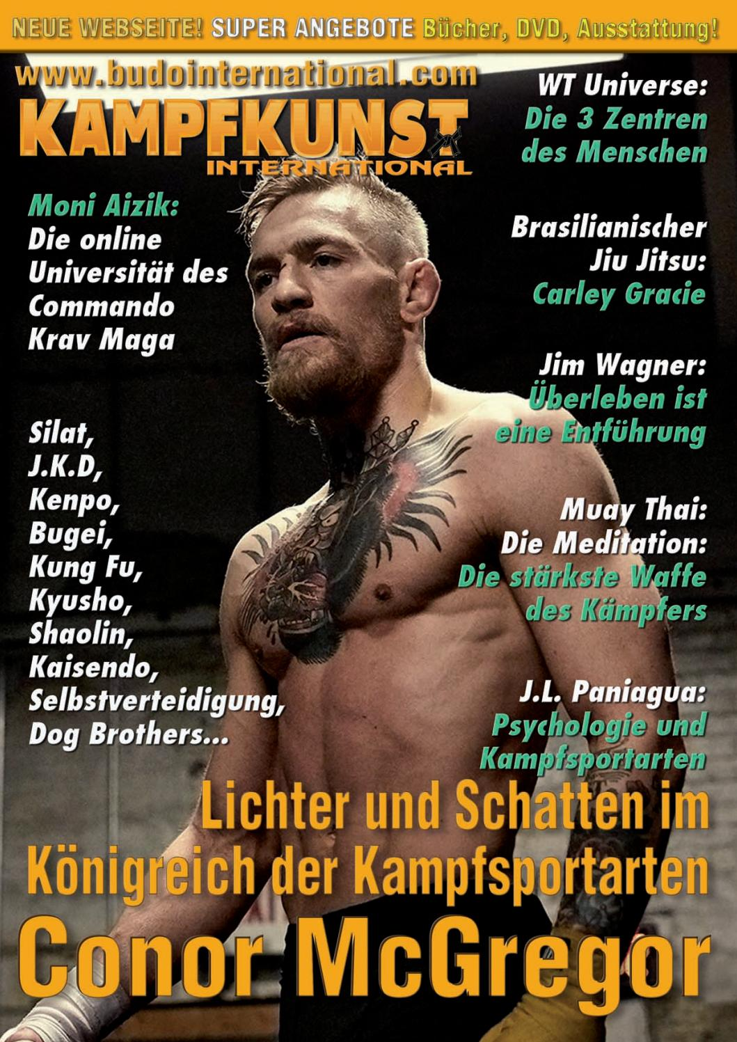 Kampfkunst Budo International 350 Januar Teil 1 2018 By