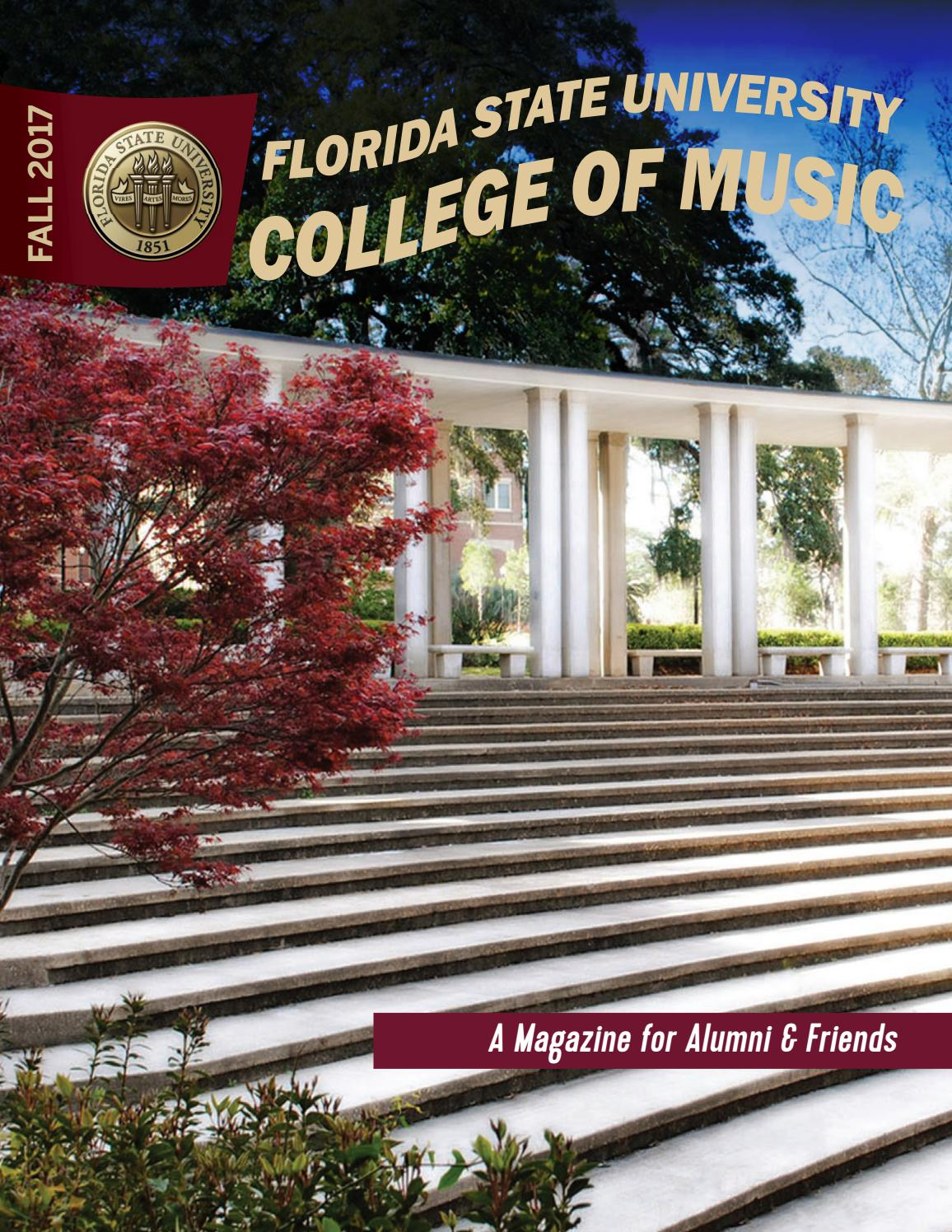 2017 Alumni Magazine by Florida State University College of