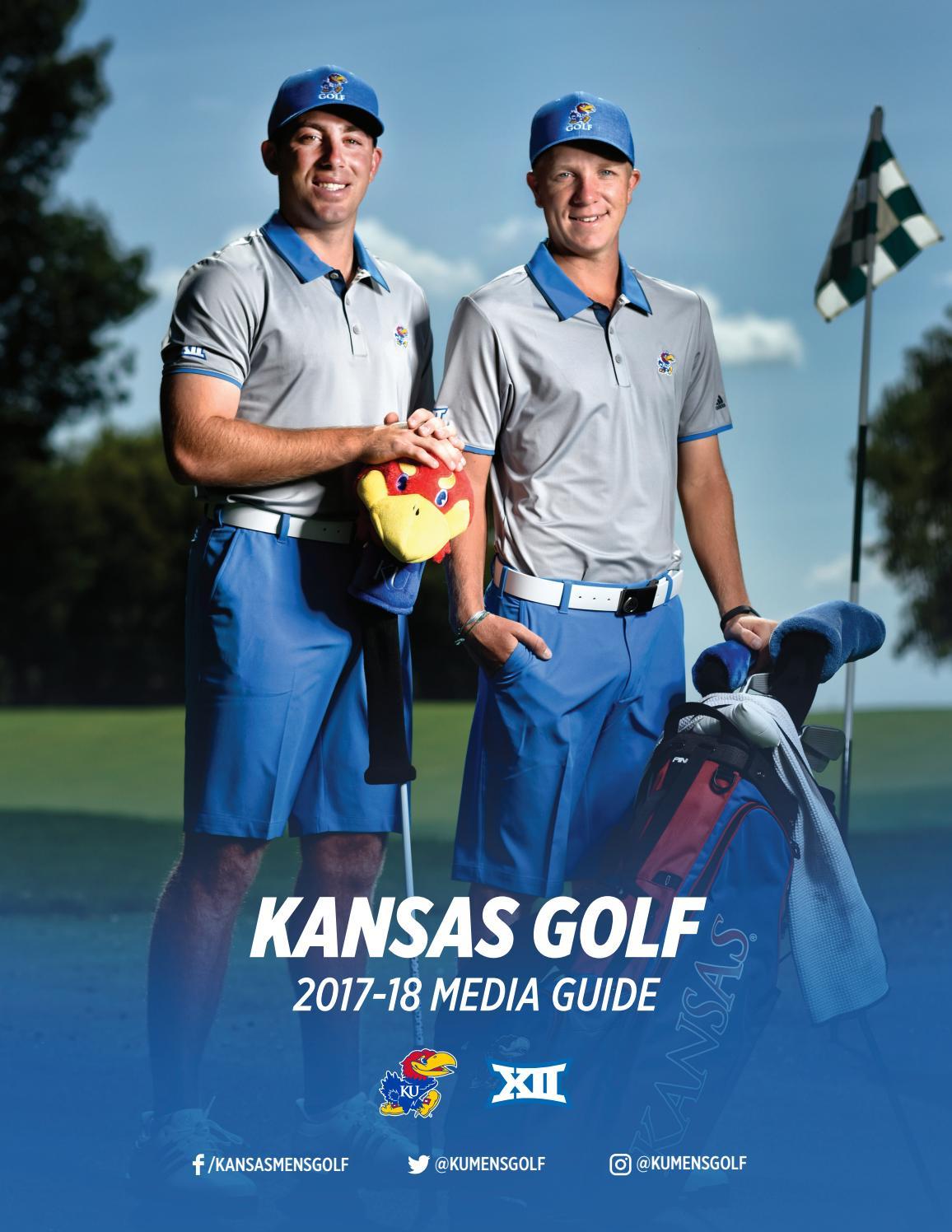 2017 18 Kansas Men S Golf Media Guide By Kansas Athletics Issuu