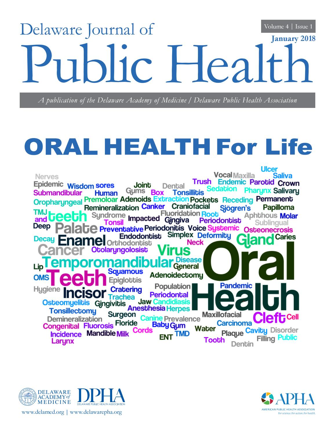 Delaware Journal of Public Health - Oral Health by Delaware Academy ... 56ae3aa7db7