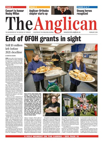 The Anglican February 2018 By Anglican Diocese Of Toronto Issuu
