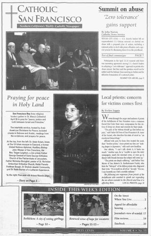 May 3, 2002 by Catholic San Francisco - issuu