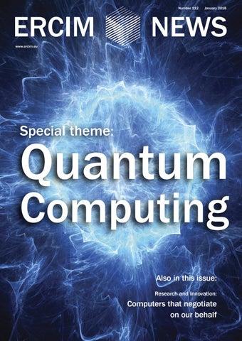 Quantum Computing - ERCIM News 112